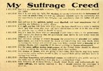 My Suffrage Creed by Ida Clyde Clarke