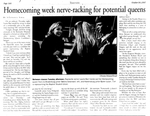 Homecoming Week Nerve-Racking for Potential Queens by Stephanie Siria