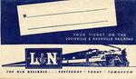 L&N Railroad Ticket Envelope