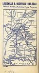 L&N Railroad Ticket Envelope, Flap