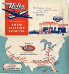 Delta Air Lines Ticket Envelope