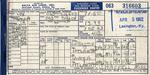 Delta Air Line Ticket