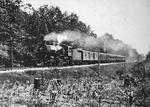 L & N Engine 2214 & Train