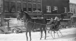Horse Drawn Sleigh by WKU Library Special Collections