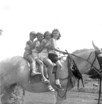 Elkin Children on Old Ater by WKU Library Special Collections