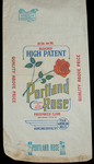 Portland Rose [flour bag] by Kentucky Library Research Collection