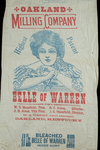 Belle of Warren [flour bag] by Kentucky Library Research Collections