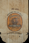 Kanawha Chief [corn meal bag] by Kentucky Library Research Collections