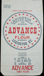 Advance Flour [flour bag] by Kentucky Library Research Collections