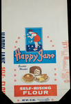 Happy Jane [flour bag] by Kentucky Library Research Collections