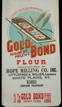 Gold Bond [flour bag] by Kentucky Library Research Collections
