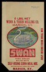 Swan [corn meal bag]