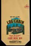 Log Cabin [corn meal bag] by Kentucky Library Research Collections
