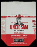 Uncle Sam [corn meal bag]