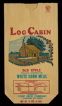 Log Cabin [corn meal bag]