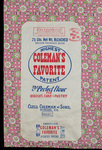 Coleman's Favorite [flour bag] by Kentucky Library Research Collections