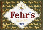 Fehr's Liquid Gold Beer (Frank Fehr Brewing Co.) by Department of Library Special Collections