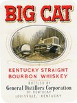 Big Cat Kentucky Straight Bourbon Whiskey (General Distillers Corporation) by Department of Library Special Collections