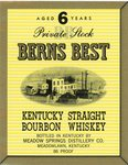 Berns Best (Meadow Springs Distillery Co.) by Department of Library Special Collections