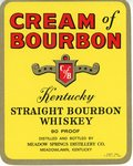 Cream of Bourbon (Meadow Springs Distillery Co.) by Department of Library Special Collections