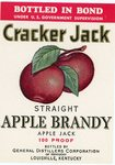 Cracker Jack Straight Apple Brandy (General Distillers Corporation of Kentucky) by Department of Library Special Collections