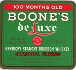 Boone's DeLuxe (Old Boon Distillery Co.) by Department of Library Special Collections