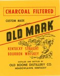 Old Mark (Old Boone Distillery Co.) by Department of Library Special Collections