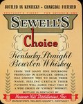 Sewell's Choice (Heaven Hill Distilleries, Inc.) by Department of Library Special Collections