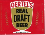 Oertel's Real Draft Beer (Oertel Brewing Co. Inc.) by Department of Library Special Collections