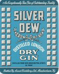 Silver Dew Dry Gin (bottle By Ascot Distillery Ltd.) by Department of Library Special Collections