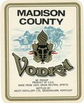 Madison County Vodka (Ascot Distillery Ltd.) by Department of Library Special Collections