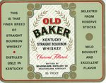 Old Baker (Meadowlawn Distillery Co.) by Department of Library Special Collections