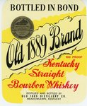 Old 1889 Brand (Old 1889 Distillery Co.) by Department of Library Special Collections