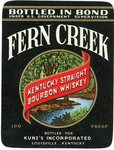 Fern Creek (Bottled for Kunz's Inc.) by Department of Library Special Collections
