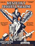 Kentucky Progress Magazine Volume 3, Number 3 by Kentucky Library Research Collections
