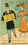 Leap Year : Here's a tip to bachelors! by Kentucky Library Research Collection
