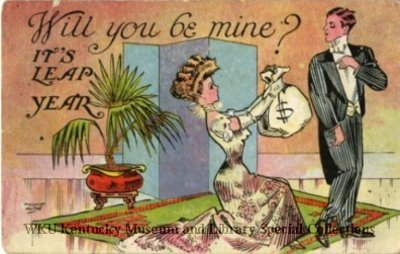 Will you be mine?  It's Leap Year