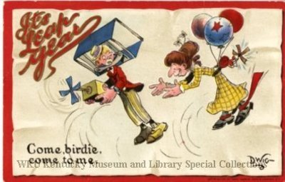 It's Leap Year : Come, birdie, come to me!