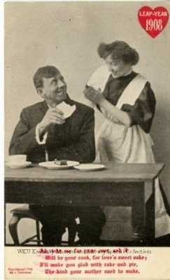 Leap-Year 1908 : Ah, Take Me For Your Own