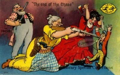 The End of the Chase In 1908