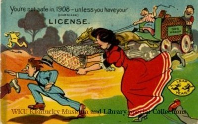 You're Not  Safe Unless You Have Your (Marriage) License