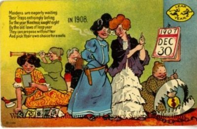 Maidens Are Eagerly Waiting . . . In 1908