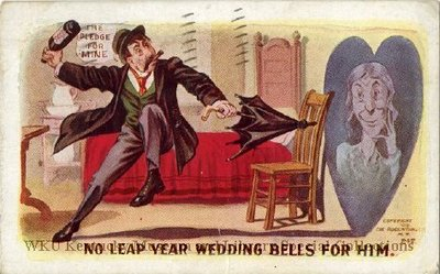 No Leap Year Wedding Bells For Him