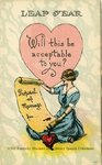 Leap Year : Will This Be Acceptable To You? by Kentucky Library Research Collection