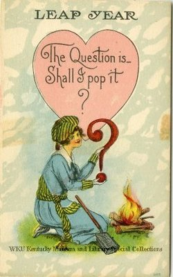 Leap Year : The question is...Shall I pop it?