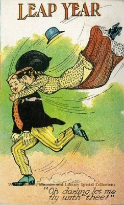 Leap Year : Oh Darling Let Me Fly With Thee!