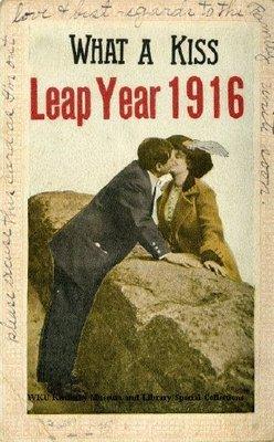 What A Kiss : Leap Year 1916