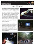 MCICSL Newsletter - August 2015 by Shannon R. Trimboli Education Coordinator