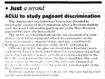 ACLU to Study Pageant Discrimination by College Heights Herald
