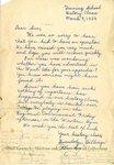 Letter by WKU Training School